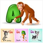 儿童英文识字卡4