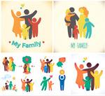 和谐幸福家庭人物
