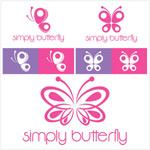 蝴蝶主题标志