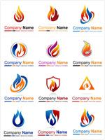 商业火苗logo