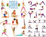 女性瑜珈运动