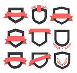 空白徽章标签