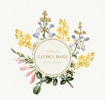花卉装饰标签