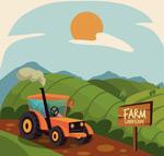 田地农场风景