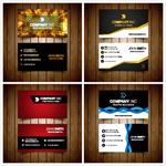 商务风格卡片