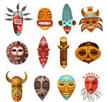 脸谱面具造型