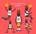 黑人篮球运动员