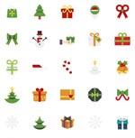 圣诞节图标矢量