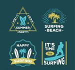 夏季冲浪标志