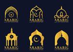 金色建筑logo