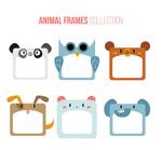 动物空白相框