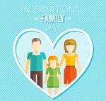 国际家庭日贺卡