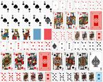 扑克矢量素材