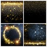 金色粒子矢量