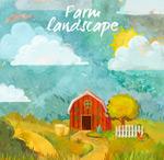 农场小屋风景