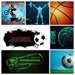 体育运动矢量