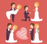 幸福婚礼新人