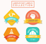 劳动节标签