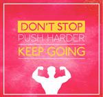 运动健身励志海报