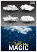 白云和星光