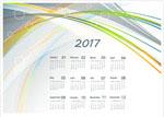 2017年历矢量