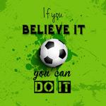 足球励志隽语