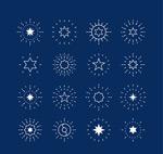 星星图标矢量