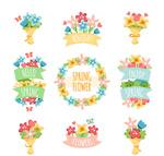 春季花束与花环
