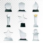 透明奖杯奖牌