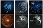 抽象地球矢量