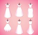白色婚纱设计