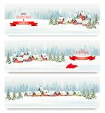 雪景圣诞节背景