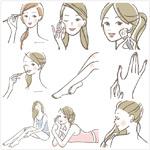 手绘身体保养