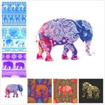 大象图案花纹