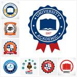 大学logo矢量
