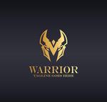 金色战士logo
