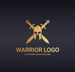 战士面具宝剑logo