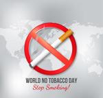 世界戒烟日海报