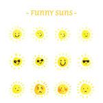 趣味太阳表情