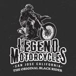 摩托赛车印染图案
