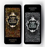 亮片VIP卡