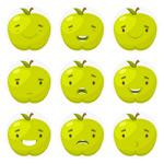 苹果表情图标