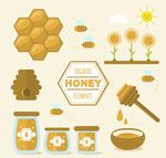 有机蜂蜜元素
