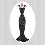 黑色礼服长裙