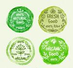 有机食物徽章
