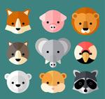 可爱小动物头像