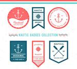 航海元素徽章