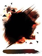 黑色水墨背景图