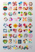 圆圈信息图