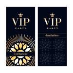 黑色VIP卡片